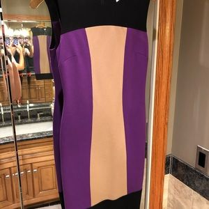 Contour Color block Dress